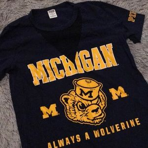 Michigan Wolverine Tee